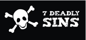 7 Deadly Sins Graphic